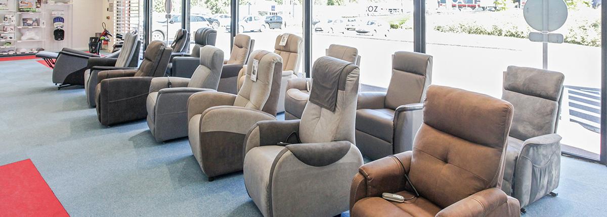 fauteuil de confort et santé moteur manuel bastide le confort médical limoges